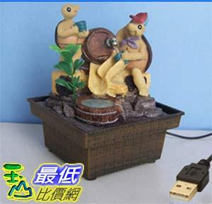 [玉山最低比價網] 卡通烏龜喝水USB供電迷你小噴泉流水擺飾  dm12 $479