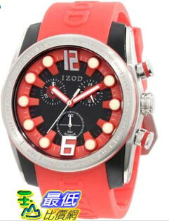 [美國直購 USAShop] Izod 手錶 Men's Watch IZS2/8.Red _mr   $3011