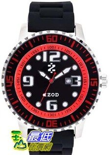 [美國直購 USAShop] Izod 手錶 Men's Watch IZS4/4.BLACK.RED _mr   $2885