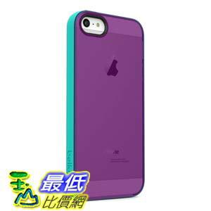 [美國直購 USAShop] Belkin 保護殼 Grip Candy Sheer Case / Cover for iPhone 5 and 5S (Purple / Turquoise)   $799