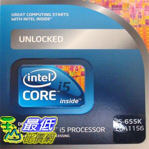 [美國直購 ShopUSA] Processor 處理器 - 1 x Intel Core i5 655K / 3.2 GHz - LGA1156 Socket - L3 4 MB - Box BOX CORE I5 655K 3.20G  $7454