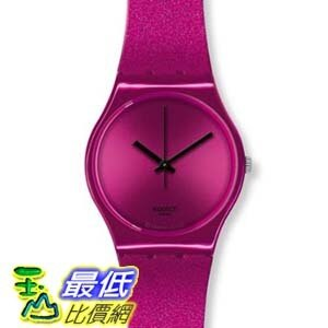 [美國直購 ShopUSA] Swatch 手錶 Originals Deep Pink Dial Silicone Unisex Watch GP139   $2719