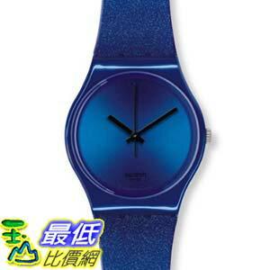 [美國直購 ShopUSA] Swatch 手錶 Originals Intense Blue Dial Silicone Unisex Watch GS144   $2173