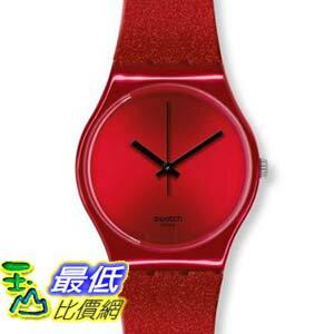 [美國直購 ShopUSA]  Swatch Originals Intense Red Dial Silicone 男士手錶 GR160   $2598