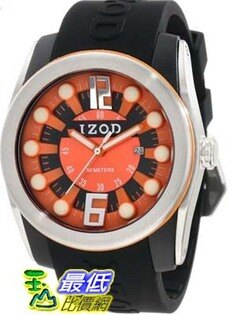 [美國直購 USAShop] Izod 手錶 Men's Watch IZS1/3.BLACK.ORANGE _mr   $2339