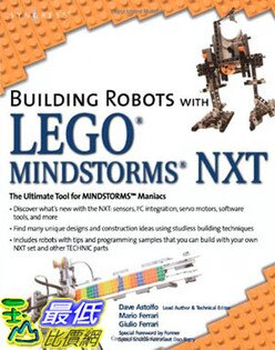 [美國直購 ShopUSA] Building 建築機器人 Robots with LEGO Mindstorms NXT $1410