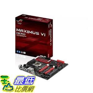 [103美國直購 ShopUSA] ASUS 主機板 MAXIMUS VI HERO DDR3 2800 LGA 1150 Motherboard socket for 4th Generation Intel Core i7/ i5/ i3/ Pentium / Celeron Processors $8857