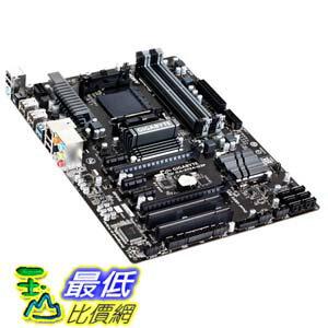 [103美國直購 ShopUSA] Gigabyte 主機板 ATX Socket AM3+ AMD 970 Chipset 2000MHz DDR3 SATA III 6Gbps Ready AMD 9 Series FX Motherboards GA-970A-D3P $4179