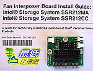 [103美國直購 ShopUSA] Interposer 插板 Board (connects Fan To Backplane) and Installation Guide. $1809