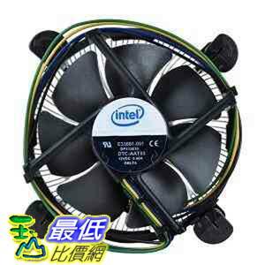 """[103美國直購 ShopUSA] Intel 散熱片 E33681-001 Socket 775 Aluminum Heat Sink & 3.5"""" Fan w/4-Pin Connector up  $719"""