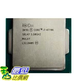 [103 玉山網 裸裝] Intel四代I7 4770K Haswell 3.5G四核8執行緒 $14140
