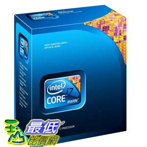 [103美國直購 ShopUSA] Intel 處理器 Core i7 860 Processor 2.80 GHz 8 MB LGA1156 CPU I7-860BOX $12799