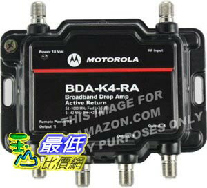 [103美國直購] 1對 4 強波器 5 倍   Motorola Signal Booster 2-Port BDA-S2 Cable Modem TV HDTV Amplifier $2999