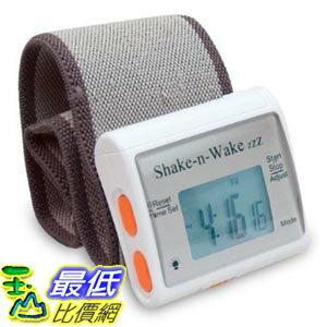 [103美國直購] Shake 'n' Wake Alarm Clock 隨身腕表型個人震動鬧鐘 _TC2