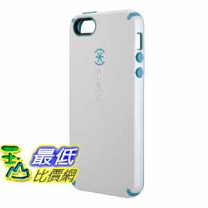 [美國直購] Speck 手機殼 SPK-A0478 White/Peacock Blue Products CandyShell Glossy Case for iPhone 5 - Retail Packaging