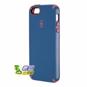 [美國直購] Speck 保護殼 SPK-A0482 Harbor Blue/Coral Pink Products CandyShell Glossy Case for iPhone 5 - Retail Packaging