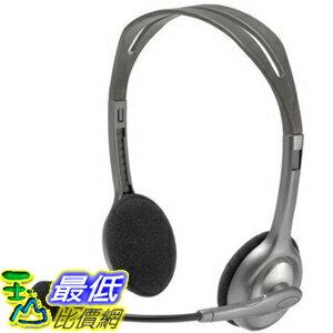 [104美國直購] 立體聲 耳機 981-000214 Logitech Stereo Headset H110
