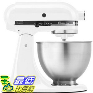 [104美國直購] 攪拌機 KitchenAid KSM75WH 4.5-Qt Classic Plus Stand Mixer - White
