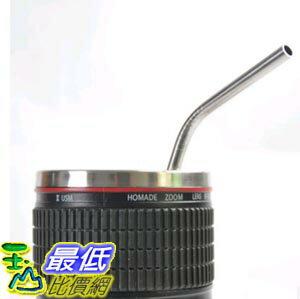 [103 玉山最低比價網] 正品品牌coogeek食品級304不銹鋼吸管 創意環保 奶茶咖啡飲料果汁吸管攪拌棒 (一組2入)  (_W33) $98