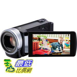 [103美國直購] JVC 數字視頻 GZ-E200BUS1080p HD Everio Digital Video CameraVideo Camera with 3-Inch LCD Screen (Black) $10998