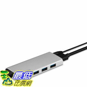 [104美國直購]  Belkin 4-Port Hub with 3-Foot USB 3.0 Cable (F4U073tt)