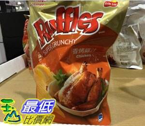 [104限時限量促銷]  COST  RUFFLES 雞汁口味厚切洋芋片 450公克 _C73107 $154