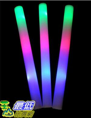 [過長無法超商取貨] LED燈海綿海棉泡綿閃光電子螢光棒~派對Party演唱會加油跨年晚會春吶 (_Q33)