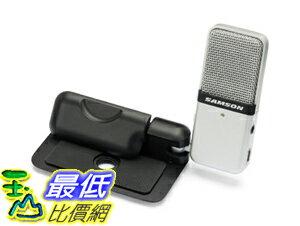 [104美國直購] Samson Go Mic Portable USB Condenser Microphone 便攜式 USB IPAD專用 電腦專用話筒 電容式麥克風