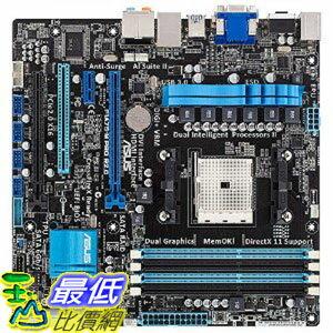 [美國直購] ASUS 主機板 F1A75-M PRO R2.0 FM1 AMD A75 (Hudson D3) HDMI SATA 6Gb/s USB 3.0 Micro ATX AMD Motherboard$4300
