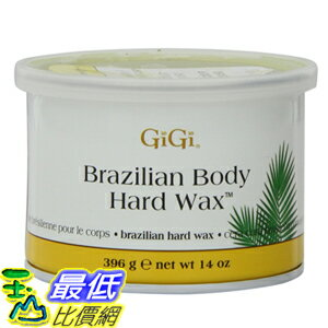 [104美國直購] 蜜蠟 硬蠟 GiGi Brazilian Body Hard Wax 14 Ounce