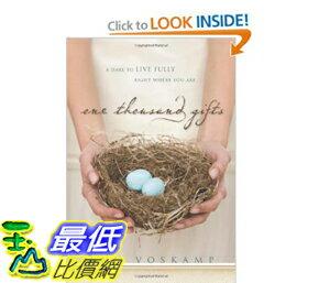 [美國直購]2012 美國秋季暢銷書排行榜One Thousand Gifts $820