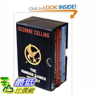 [美國直購]2012 美國秋季暢銷書排行榜The Hunger Games Trilogy Boxed Set $1693