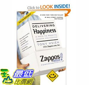 [美國直購]2012 美國秋季暢銷書排行榜Delivering Happiness$740