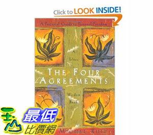 [美國直購]2012 美國秋季暢銷書排行榜The Four Agreements: A Practical Guide to Personal Freedom$585