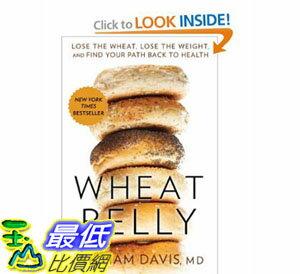 [美國直購]2012 美國秋季暢銷書排行榜Wheat Belly: Lose the Wheat, Lose the Weight$773