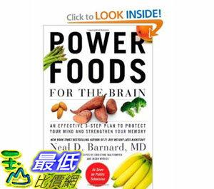 [美國直購]2012 美國秋季暢銷書排行榜Power Foods for the Brain$912