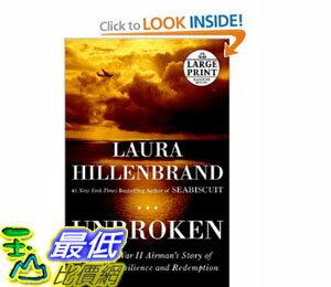 [美國直購]2012 美國秋季暢銷書排行榜Unbroken: A World War II Story of Survival$975