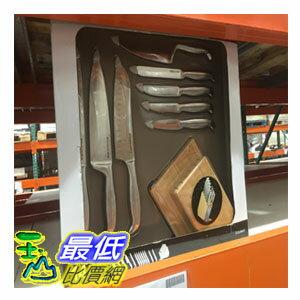 [104限時限量促銷] COSCO KITCHENAID不?鋼刀具14件組*含木制刀座*  _C863986 $4203