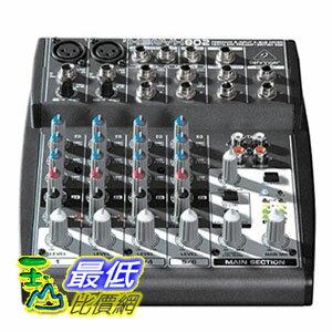 【104美國直購】現貨1個 德國 混音器 Behringer Xenyx 802 Premium 8-Input 2-Bus Mixer _ CB0