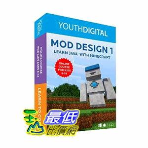 [104美國直購] Mod Design 1 - Kids Ages 8-14 Learn to Code in Java with Minecraft ? (PC & Mac) $9817