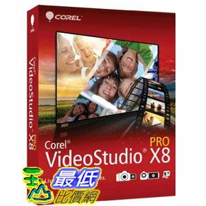 [104美國直購] Corel VideoStudio Pro X8 $3559