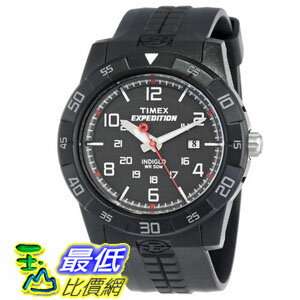 [103 美國直購 ShopUSA] Timex 手錶 Expedition Rugged Black Dial Black Black Resin Mens Watch T49831