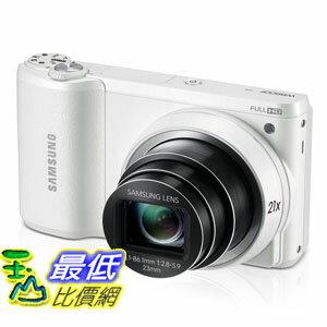 """[103 美國直購 ShopUSA] Samsung 數碼相機 WB800F 16.3MP CMOS Smart  Digital Camera with 21x Optical Zoom, 3.0"""" Touch Screen LCD and 1080p HD Video (White) $11146"""