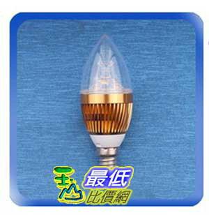 [玉山最低比價網] E14 3W LED 暖白 燈泡 崁燈 水晶燈 吊燈 省電燈泡 AC85-265V適用(77894_L211)