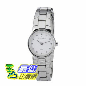 [美國直購 ShopUSA] Skagen 手錶 White Dial Swarovski Crystal Stainless Steel Ladies Watch 430XSSXW $2229