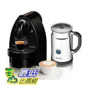 [美國直購 ShopUSA] 奶泡機Essenza Manual Espresso Machine with Aeroccino Plus Milk Frother Bundle Option: Black/Aero+Bundle $7890