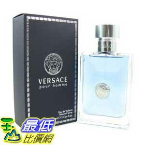 [104美國直購] Versace Pour Homme B001HTTBWQ By Versace 男士淡香水 3.4 Ounce $1921
