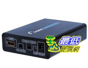 [103 美國直購 ShopUSA] Generic 視頻轉換器 Lenkeng LKV381 1080P 720P HDMI to Composite/S-Video Converter Color Black $1693