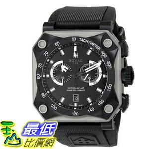 [104美國直購] Zodiac ZMX 黑色 ZO8518 Adventure Analog Display Swiss Quartz 男士手錶 $35689