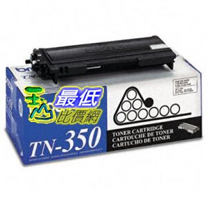 [103 美國直購 ShopUSA] Brother 硒鼓 TN350 Compatible Toner Cartridge for use with $761